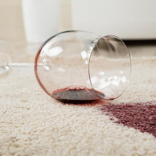 How to Clean Red Wine on Carpet