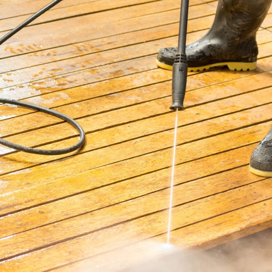 Three Tips for Powerwashing Your Deck