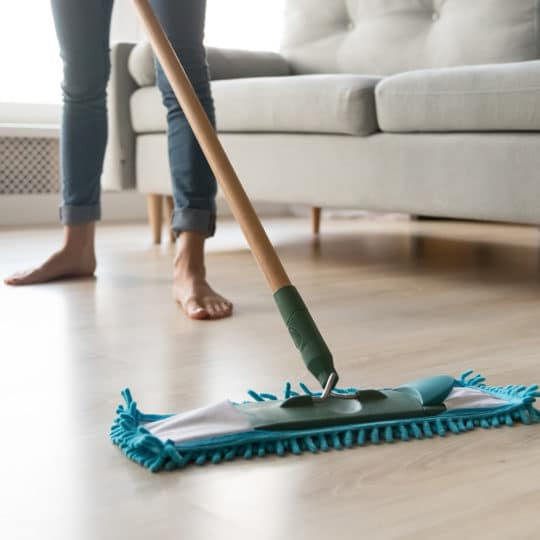 Three Tips for Cleaning Your Hardwood Floor